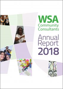 WSA Annual Report 2018 cover