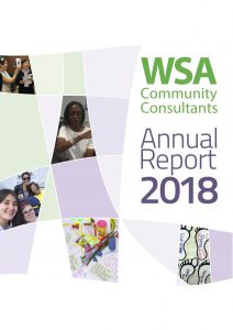 Cover of WSA Annual Report 2018